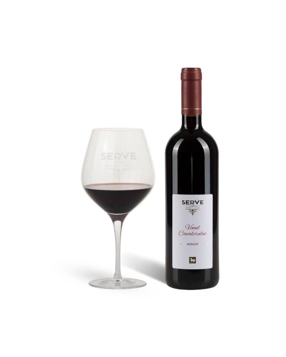 Vinul Cavalerului Merlot 2017